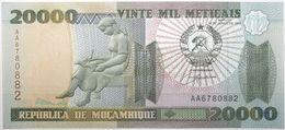 Mozambique - 20000 Meticais - 1999 - PICK 140 - NEUF - Mozambique