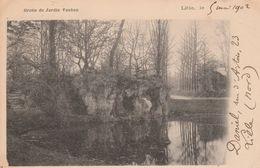 Lille - 1902 - Grotte Du Jardin Vauban - Scan Recto-verso - Lille