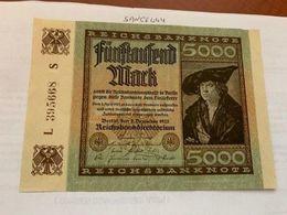 Germany 5000 Marks Crisp Banknote 1922 #1 - 5000 Mark