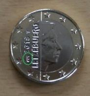Luxemburg  2020   1 Euro  Met MMT BRUG  -  POINCON  PONT  ZEER ZELDZAAM   -  EXTREME RARE 5.000 !!!! - Luxembourg