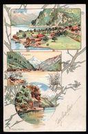 SVIZZERA - SUISSE - SCHWEIZ - 1901 - URI - UR - SISIKON - FLUELEN - CAPPELLA DI TELL - UR Uri