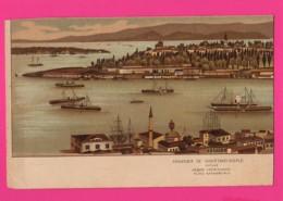 CPA (Réf: Z3066) (TURQUIE) Souvenir De CONSTANTINOPLE 1919 - Turkey
