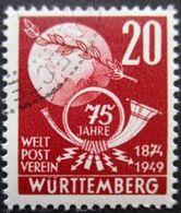 WURTEMBERG N°51 Oblitéré - Französische Zone