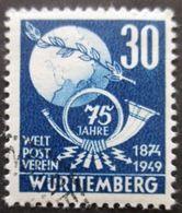 WURTEMBERG N°52 Oblitéré - Französische Zone