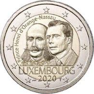 Luxemburg  2020  2 Euro Comm. Prince Henry D'Orange De Nassau  MMT BRUG - Poinçon PONT  UNC Uit De BU  5.000 X !!!! - Luxembourg