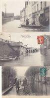 T.BON LOT DE 430 CPA PARIS UNIQUEMENT .DONT 30 SUR LES INNONDATIONS DE 1910.B.ETAT GENERAL VOIR DESC.ET SCANS - Cartes Postales
