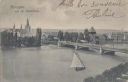 Allemagne - Konstanz Von Der Seestrasse - Postmarked Immenstaad - Konstanz
