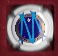 Boisson , Ville, Capsule De Champagne  Sport  FOOT - BALL  Les  100  Ans  1899 - 1999, O.M, Olympique  De  Marseille -13 - Champán
