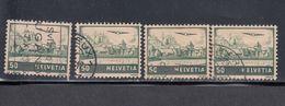 Switzerland, Scott #C29, Used, Lake Geneva, Issued 1941 - Airmail