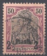 Deutsche Auslandspostämter Türkei Michel Nr. 18 I  Gestempelt - Deutsche Post In Der Türkei
