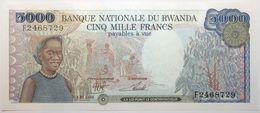 Rwanda - 5000 Francs - 1988 - PICK 22a - NEUF - Rwanda