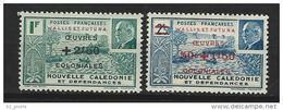 """Wallis YT 130 & 131 """" Pétain, Surchargés """" 1941 Neuf** - Wallis-Et-Futuna"""