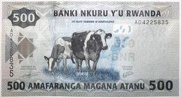 Rwanda - 500 Francs - 2013 - PICK 38a - NEUF - Rwanda