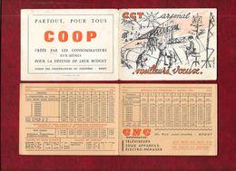 CGT - Arsenal De Brest - Petit Calendrier De Poche 1966 - Dessin De François Perhirin - - Calendriers