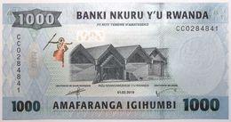 Rwanda - 1000 Francs - 2019 - PICK 39b - NEUF - Rwanda