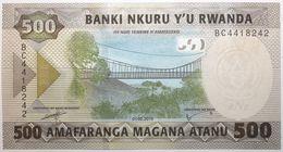 Rwanda - 500 Francs - 2019 - PICK 42a - NEUF - Rwanda