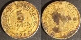 British Honduras - 5 Cents 1964 Used (hb001) - Colonias