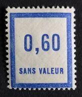 France Fictif N° F47 N** Luxe Gomme D'origine, TTB. Cote 2020 : 2 €. Voir Photos Recto Verso ! - Fictie