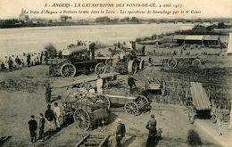 Les Ponts De Cé * Catastrophe Férroviaire * Opération De Sauvetage 6ème Génie * Tracteur - Les Ponts De Ce