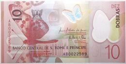 Sao Tome Et Principe - 10 Dobras - 2016 - PICK 71a - NEUF - São Tomé U. Príncipe