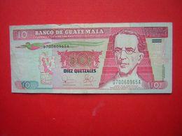 1 BILLET  BANCO DE GUATEMALA 10 DIEZ QUETZALES   2003 - Guatemala