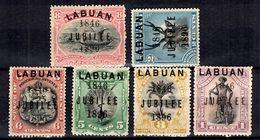 Labuan YT N° 65/70 Neufs *. B/TB. A Saisir! - Nordborneo (...-1963)