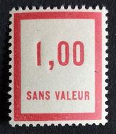 France Fictif N° F49 N** Luxe Gomme D'origine, TTB. Cote 2020 : 3 €. Voir Photos Recto Verso ! - Fictifs