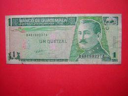1 BILLET  BANCO DE GUATEMALA 1  UN QUETZAL    1996 - Guatemala