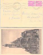 FRANCE - CP CLERMONT-FERRAND PUY DE DÔME 25.12.1920  / 1 - Postmark Collection (Covers)