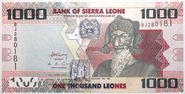 Sierra Leone - 1000 Leones - 2010 - PICK 30a - NEUF - Sierra Leone