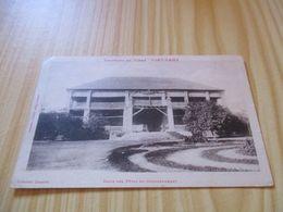 Rare CPA Fort-Lamy (Tchad).Salle Des Fêtes Du Gouvernement. - Tschad