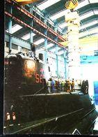 "Sous-Marin Tracker Satellite ""AEROSPATIALE""  MSBS - Sous-marins"