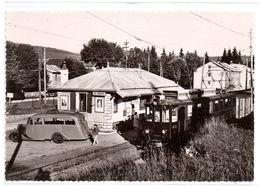Les Rousses - La Gare Du Train Electrique Morez / Saint Cergues  - 10 X 15 - CPSM° - Otros Municipios
