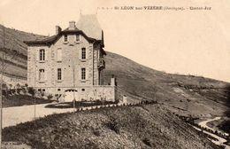 ST LEON Sur Vezère - ( Dordogne ) - Castel Jor . - Frankreich
