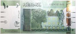 Soudan - 10 Pounds - 2017 - PICK 73c - NEUF - Soudan