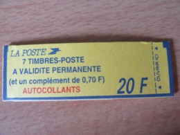 France - Carnet à Composition Variable 8 Timbres Type Marianne Briat N°1504 Conf. 9 - Neuf (non-ouvert) - Markenheftchen