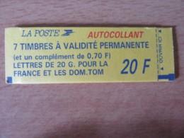 France - Carnet à Composition Variable 8 Timbres Type Marianne Briat N°1503, Conf. 9 - Neuf (non-ouvert) - Markenheftchen