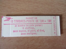 France - Carnet 10 Timbres Type Liberté N°2220-C5 - Neuf (non-ouvert) - Definitives