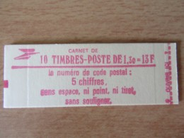 France - Carnet 10 Timbres Type Sabine 2059-C2a, Conf. 6 - Neuf (non-ouvert) - Carnets