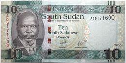 Soudan Du Sud - 10 Pounds - 2016 - PICK 12b - NEUF - Zuid-Soedan