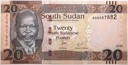 Soudan Du Sud - 20 Pounds - 2016 - PICK 13b - NEUF - Zuid-Soedan
