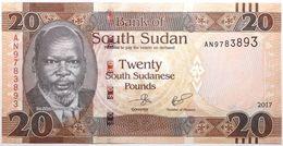 Soudan Du Sud - 20 Pounds - 2017 - PICK 13c - NEUF - Zuid-Soedan