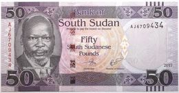 Soudan Du Sud - 50 Pounds - 2017 - PICK 14c - NEUF - Zuid-Soedan