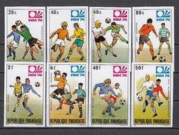 Soccer / Football / Fussball - WM 1974:  Ruanda  8 W **, Imperf. - Wereldkampioenschap