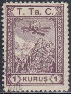 Turkey, Scott #RAC25, Used, Plane, Issued 1931 - Poste Aérienne