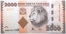 Tanzanie - 2000 Shilingi - 2015 - PICK 42b - NEUF - Tanzanie