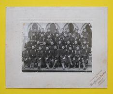 Gerona Fotografia Soldats Du 55 Régiment D'Infanterie Catalunya Espagne éditeur Pereferrery Y Barber Dos Scanné - Photos