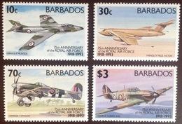 Barbados 1993 RAF Aviation Aircraft MNH - Barbados (1966-...)