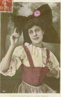 Alsace 1908; Si L'on N'en Parle Pas On Y Pense Toujours! (costume) - Voyagé. (103 - EPR) - Alsace