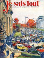 Je Sais Tout Octobre 1931 : Salon De L'automobile - 1900 - 1949